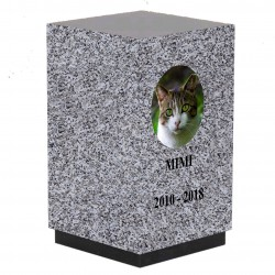 URNE GRANIT POUR CHAT TARN PERSONNALISABLE