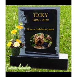 modèle de personnalisation cimetière virtuel pour chiens, chats