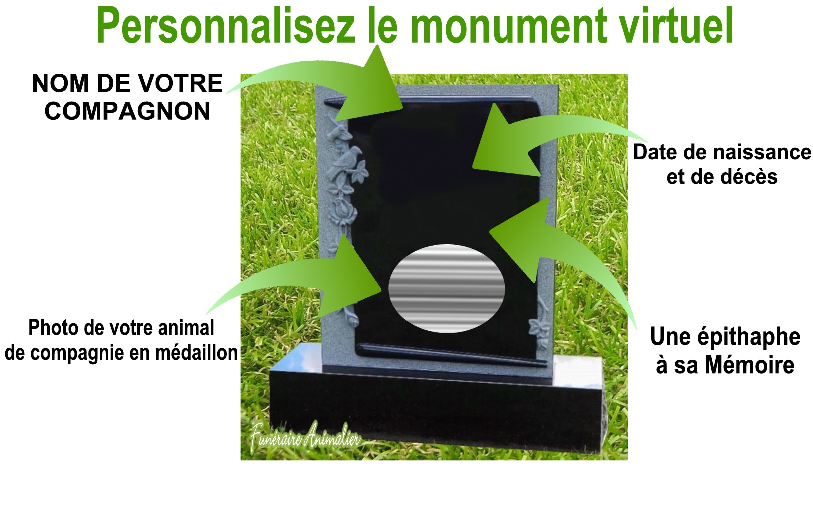 inscription au cimetière virtuel funéraire animalier