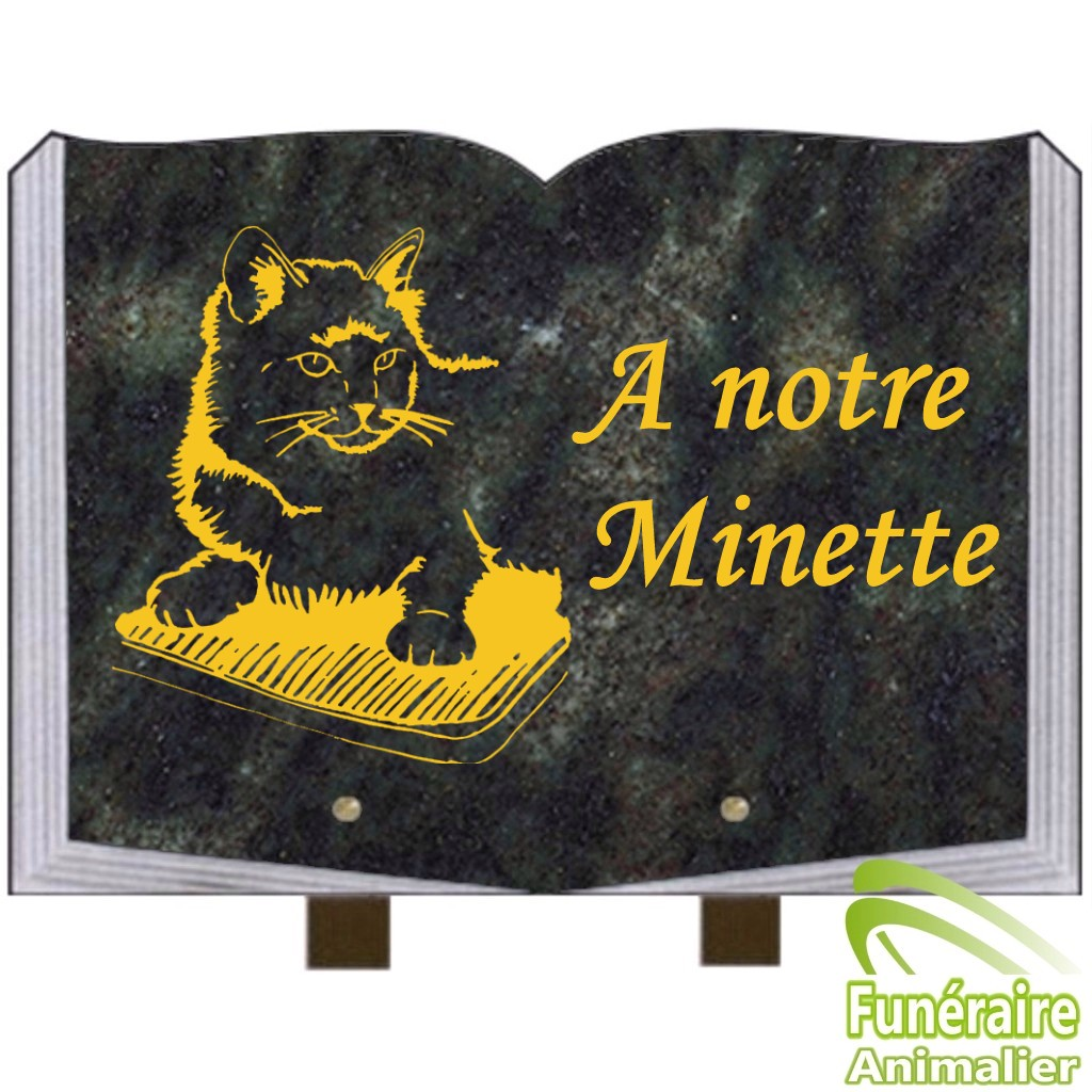 Plaques funéraires granit pour animaux CHATENAY-MALABRY
